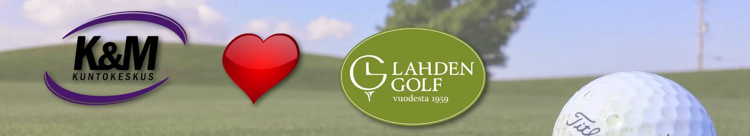 Kuntokeskus K&M yhteistyöhön Lahden Golfin kanssa